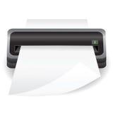 便携式的扫描器 库存例证