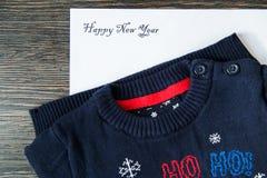 与信件的小包新年 免版税库存照片
