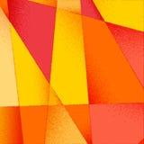 与充满活力的颜色和减速火箭的被称呼的葡萄酒的抽象背景 库存例证