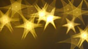 与光亮的星的典雅的圣诞节背景 皇族释放例证