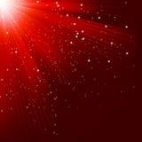 与光亮的星的巨大圣诞节纹理。EPS 10 皇族释放例证