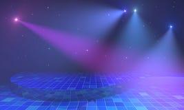 与光和星的阶段 图库摄影
