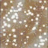 与光的抽象金马赛克传染媒介背景 库存照片