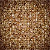 与光的抽象金马赛克传染媒介背景 免版税库存照片