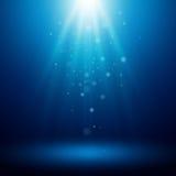 与光的背景 也corel凹道例证向量 免版税库存图片