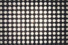 与光的被带领的二极管盘区 被带领的盘区背景 免版税库存照片