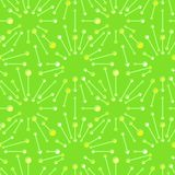 与光芒和线的抽象无缝的样式在色的背景 纺织品的,包装纸,印刷品简单的传染媒介装饰品, 向量例证