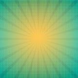 与光芒的半音传染媒介例证 免版税库存照片