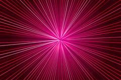 与光芒的桃红色背景 库存例证