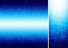 与六角形的抽象传染媒介背景 免版税库存照片