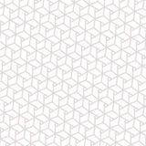 与六角形的现代几何样式 能使用 库存例证