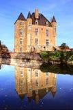 城堡、公园和庭院 免版税库存照片