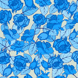 与典雅,时髦的玫瑰的无缝的纹理 组织或包装 库存照片