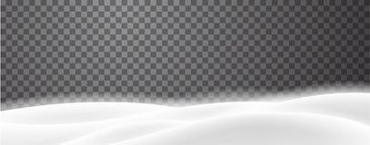 与冬天多雪的风景的横幅季节性,圣诞节和N的 库存例证