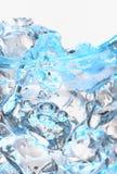 与冰块的玻璃 图库摄影