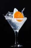 与冰的异常的鸡尾酒 免版税库存图片