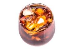 与冰II的可乐饮料 免版税图库摄影