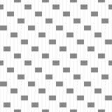 与几何形状和标志的无缝的样式 图库摄影