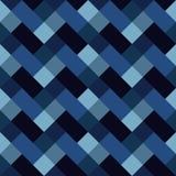 与几何形状的传染媒介样式,菱形 与之字形主题的无缝的背景 多色例证 五颜六色 库存例证