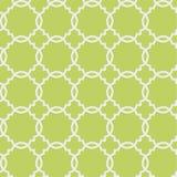 与几何形状的传染媒介无缝的样式 向量例证