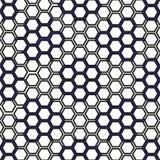 与几何形状的无缝的模式 库存图片