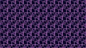 与几何的无缝的黑暗的背景 皇族释放例证
