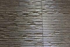 与凹线的花岗岩板料 免版税库存图片