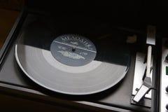 与列宁讲话的唱片  免版税库存照片