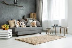 与创造性的装饰的家庭空间 图库摄影