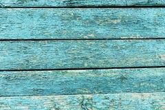 与削皮油漆的葡萄酒木背景 免版税库存照片