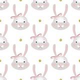 与动画片逗人喜爱的兔宝宝的样式 皇族释放例证