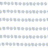与勿忘草的传染媒介春天花无缝的样式 典雅的嫩设计 向量例证