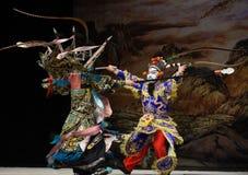 """与北京Opera""""杨Family†的妇女将军作战 图库摄影"""