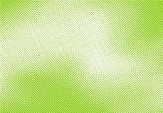与半音可笑的样式纹理的抽象鲜绿色的流行艺术减速火箭的背景 皇族释放例证