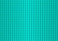 与半音小点的绿色抽象背景在流行艺术样式 ?? 库存例证