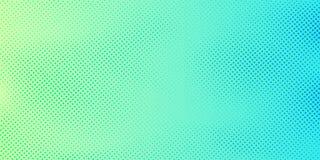 与半音样式纹理的抽象鲜绿色和蓝色梯度颜色背景 创造性的封面设计模板 库存例证