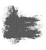 与半音纹理的黑BLOB 库存图片