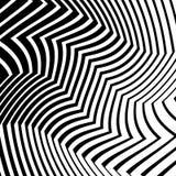 与变形作用的线 抽象本色,单色il 图库摄影
