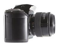 与变焦镜头的照相机 免版税图库摄影