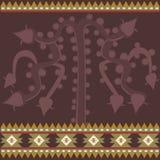 与古老美国装饰品的横幅 库存图片