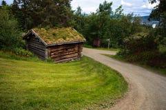 与古老老历史的乡下风景 免版税图库摄影
