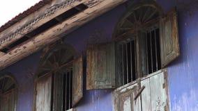 与古色古香的弧窗口的盛大老大厦,高知 影视素材