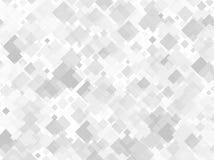 与另外标度正方形的几何样式  灰色不同的树荫以透明度和交叠 也corel凹道例证向量 向量例证