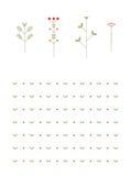 花卉样式 免版税图库摄影