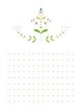花卉样式 库存图片