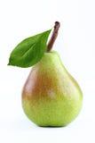 与叶子的梨 免版税库存图片