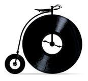 与唱片的便士极少量 向量例证