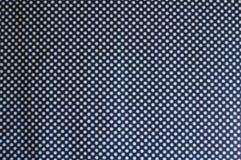 与圆点样式的织品从上面 免版税库存图片