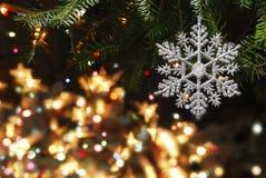 与圣诞树的圣诞节 库存图片