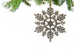 与圣诞树的圣诞节 免版税库存图片